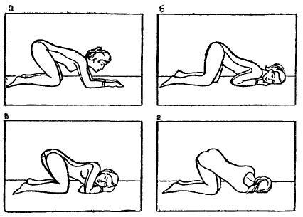 Коленно локтевое положение при беременности фото